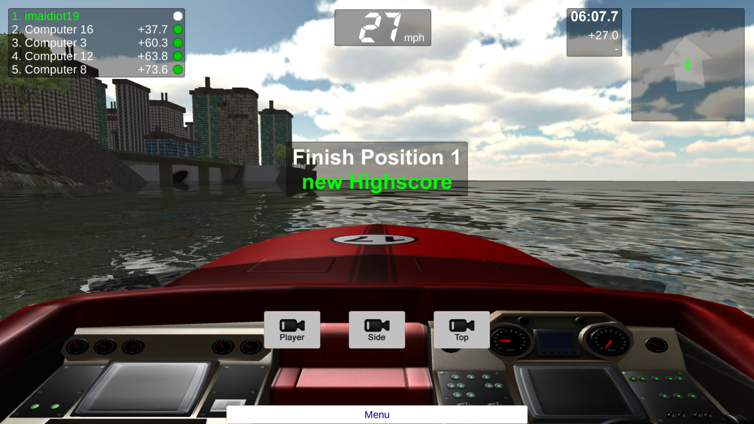 Speedboat Challenge Screenshot 2