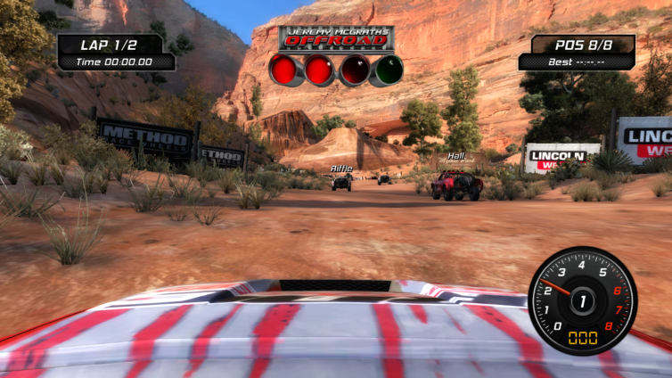 Jeremy McGrath's Offroad Screenshot 3