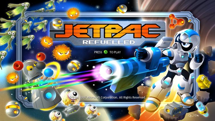 Jetpac Refuelled Screenshot 4