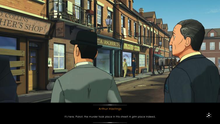 Agatha Christie - The A.B.C. MURDERS Screenshot 4