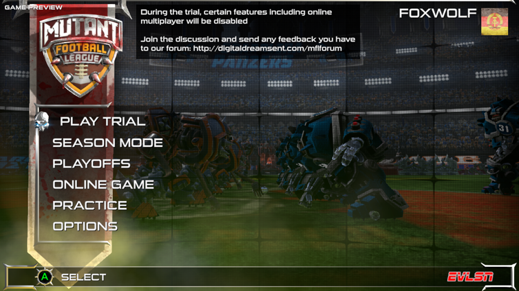 Mutant Football League Screenshot 1