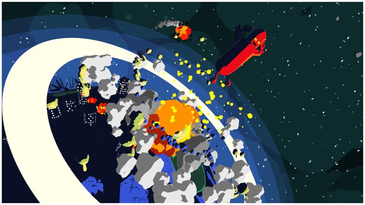 Jettomero: Hero of the Universe Screenshot 3