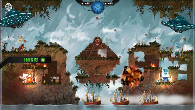 Mayan Death Robots: Arena Screenshot 3