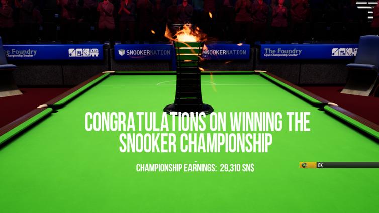 Snooker Nation Championship Screenshot 3