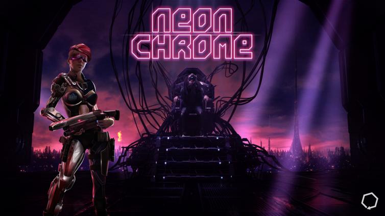 Neon Chrome Screenshot 2
