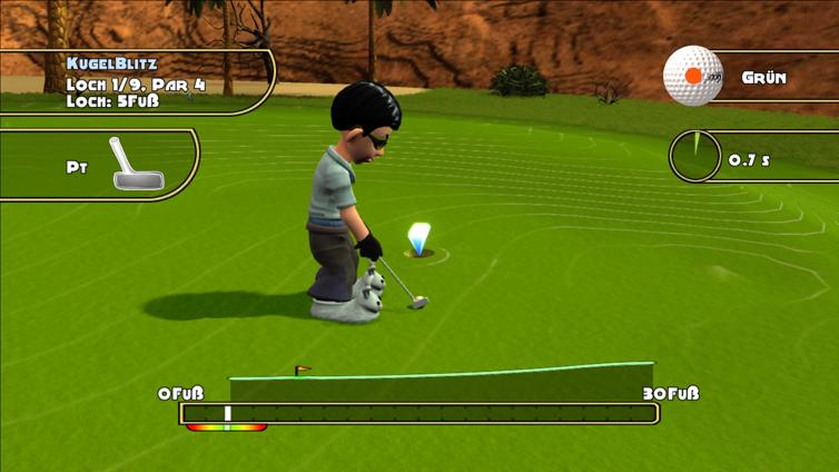 Golf: Tee It Up! Screenshot 2